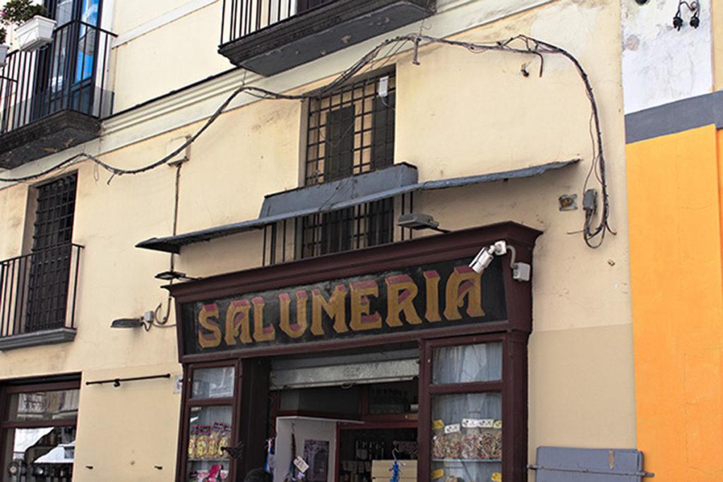 Salumeria, Shop, Sorrento, Naples, Italy