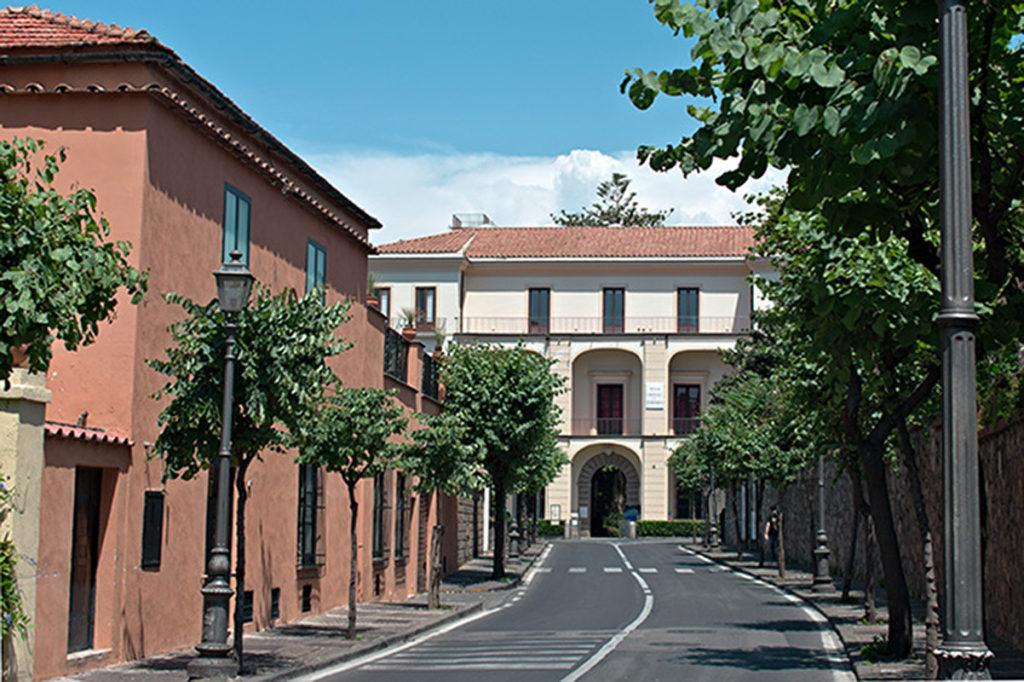 Museum, Street, Orange, Italy, Sorrento