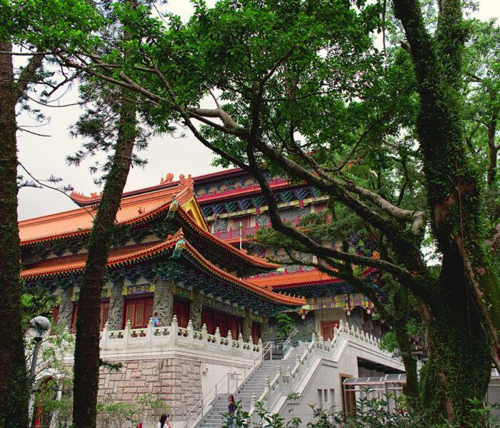 Po Lin Monastery Big Buddha Hong Kong